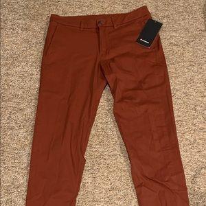 Men's Lululemon Commission Pants Size 33X34